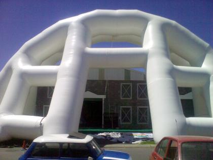 Huge Inflatable Building