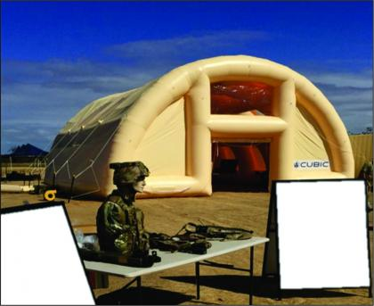 Cubic Defence Military Air Frame Shelter 1