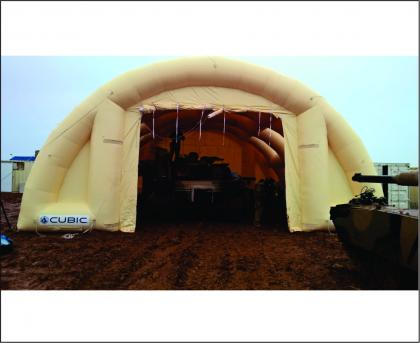 Cubic Defence Military Air Frame Shelter 2
