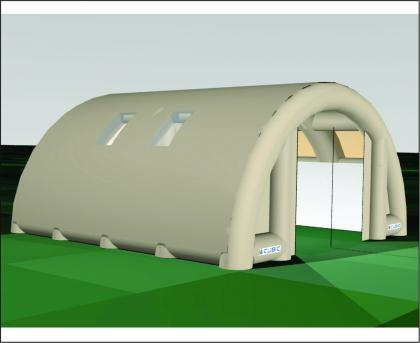 Cubic Defence Military Air Frame Shelter 5