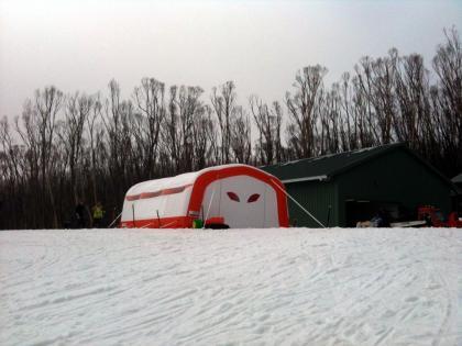 EzyShelter 7045 snow