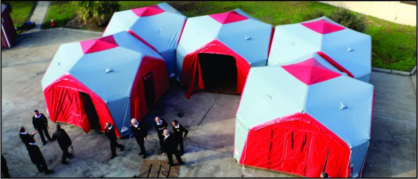 Inflatable Modular Site Office