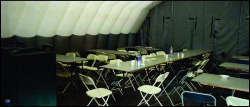 Inflatable Mess Halls