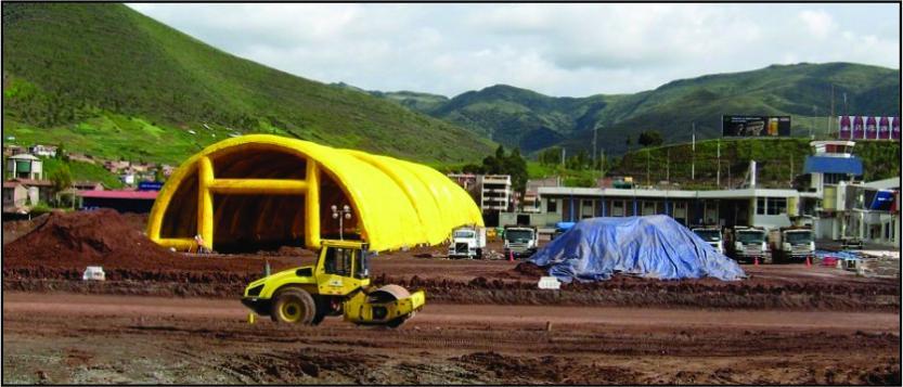 Concrete Casting Shelter