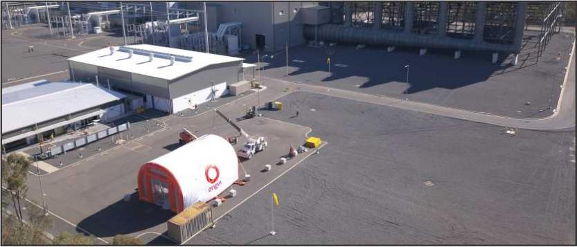Inflatable Turbine Blasting Shelter
