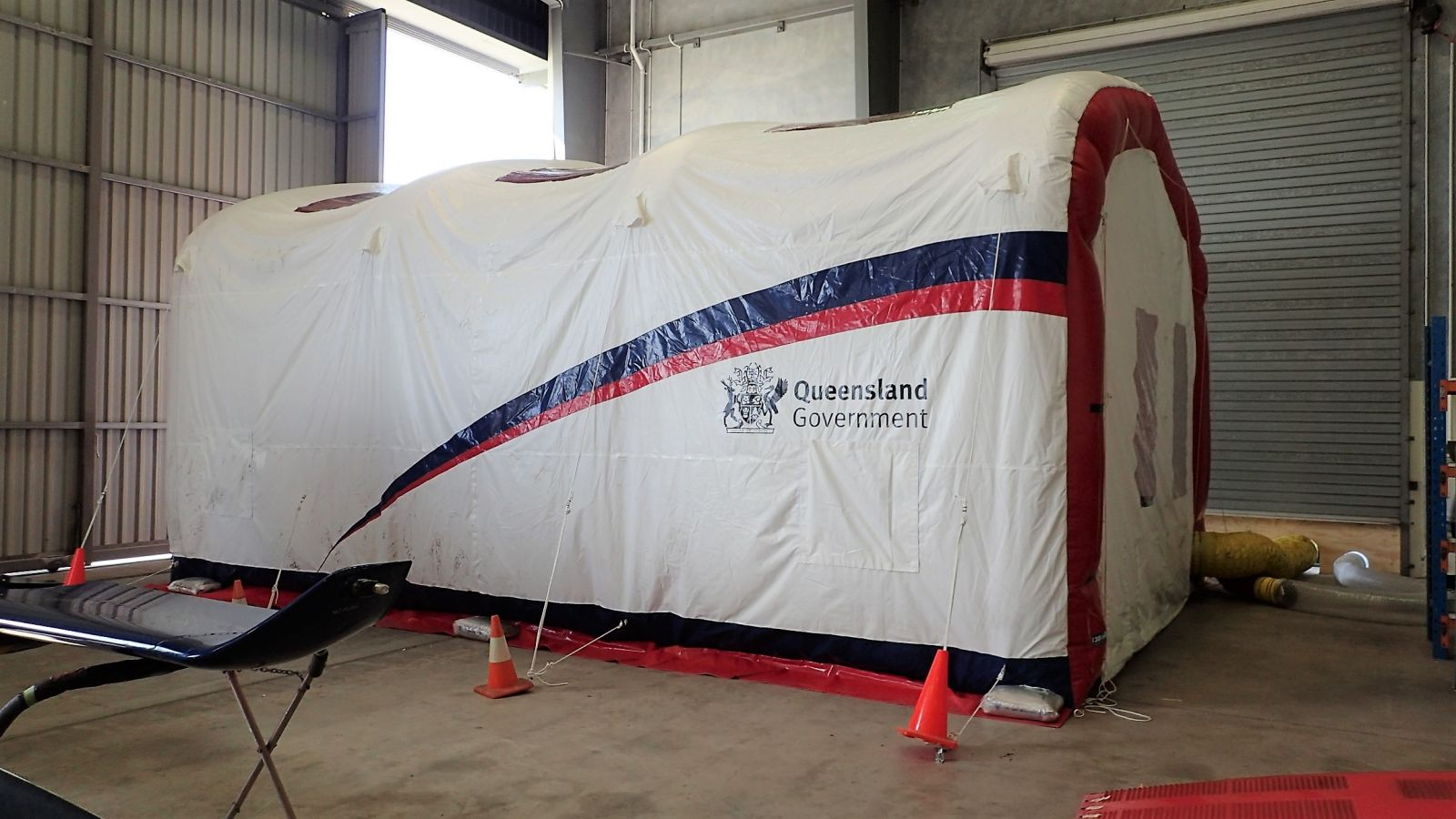 QLD Air Rescue Blasting Booth